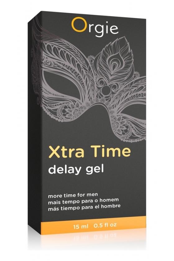 XTRA TIME DELAY GEL ORGIE 15ml