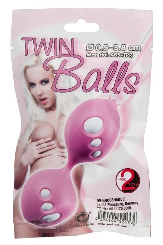 ΤWIN BALLS ROS/WEI