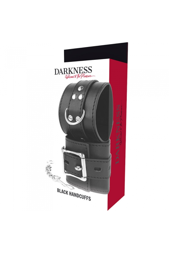 DARKNESS BLACK HANDCUFSS