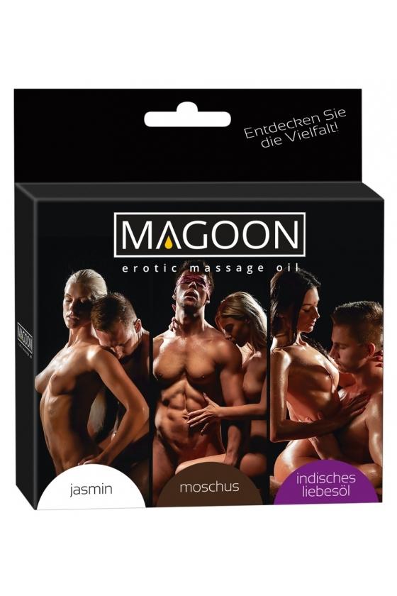 MAGOON SET MASSAGE OIL 3 x...